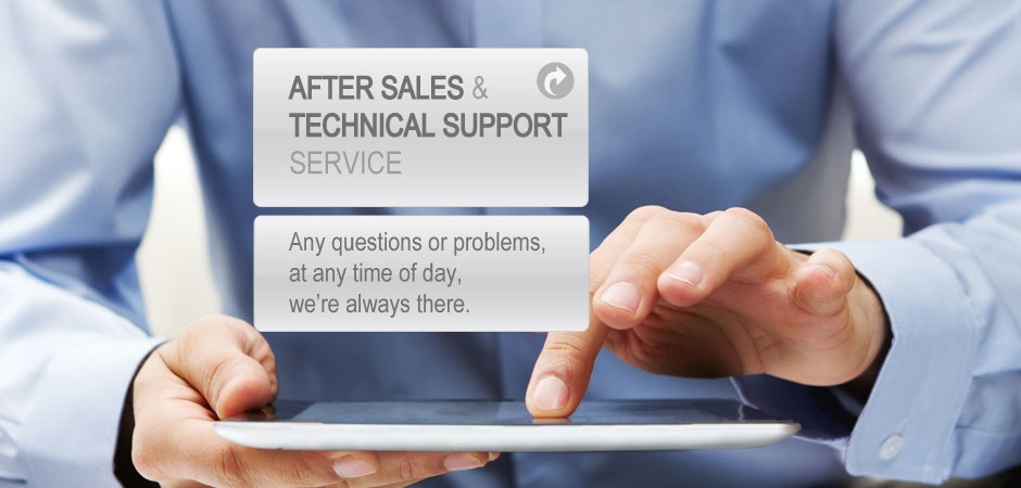 After sales & Technical support Service